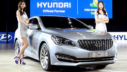 Компания Hyundai презентовала новый седан под кодовым названием AG