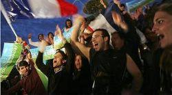 Студенты Франции митингуют в защиту демократии