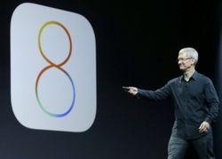 Компания Apple в общих чертах представила операционную систему iOS 8