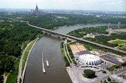 Столица РФ объявила конкурс по развитию территорий, прилегающих к Москве-реке