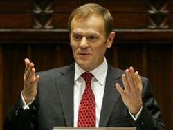 Парламент Польши объявил вотум доверия правительству Туска