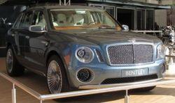 Первый внедорожник Bentley оценен в $220 000