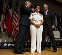 """Впервые за историю существования ВМС США """"четырехзвездным"""" адмиралом стала женщина"""