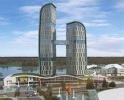 На территории поймы реки Оби за 22 млрд руб построят торговый центр