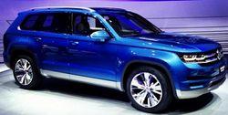 Volkswagen запустит в серийное производство семиместный полноразмерный кроссовер