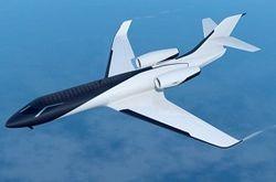 Представлен проект самолета без окон