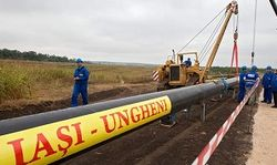 Молдавия и Румыния запустили в эксплуатацию ветку газопровода Яссы-Унгены