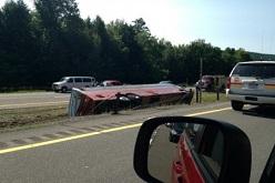 В Канаде туристический автобус, следовавший в Ванкувер, попал в ДТП