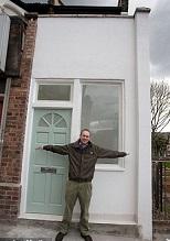 В Лондоне с аукциона будет продан дом шириной в два метра