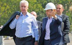 Собянин принял участие в открытии самой большой эстакады в Европе