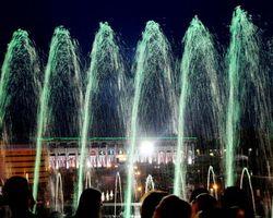 В Уфе начались работы по строительству фонтана на площади Ленина
