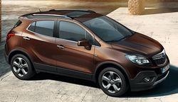 В Париже Opel представит обновленный кроссовер Mokka с новым турбодизелем CDTI