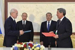 Башкирия и Атырауская обл. Казахстана подписали договор в торгово-экономической сфере