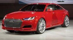 Audi показала концептуальную пятидверную версию модели TT – Sportback