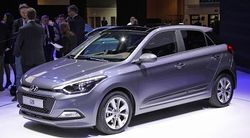 В Париже компания Hyundai представила новый хэтчбек i20