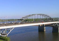 В Уфе 12 октября будет частично ограничено движение по мосту через р. Белая