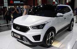 Компактный кроссовер Hyundai ix25 поступил в продажу в Китае