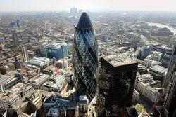 Safra купила лондонский небоскреб Gherkin $1,15 млрд