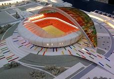 Правительство России выделит Волгограду на строительство стадиона к ЧМ-2018 16,5 млрд руб