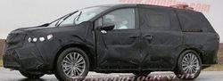 Минивэн от Acura проходит дорожные испытания