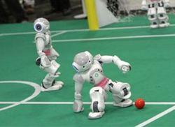 В России появится сборная из автономных человекоподобных роботов-футболистов