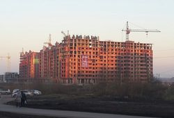 С начала года предприятия Башкирии построили 550 тыс. кв. м жилья