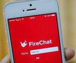 Акцию на Манежной организовали с помощью сервиса FireChat