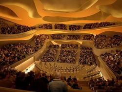 В Париже будет открыта футуристическая филармония за €386 млн