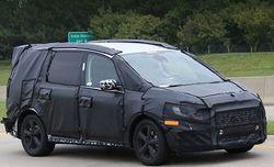 Ford в марте текущего года представит новый семейный минивэн Galaxy