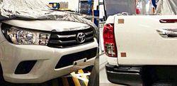 Обновленный пикап Toyota Hilux попал в объектив фотошпионов