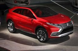 Компания Mitsubishi показала фото нового гибридного концепта XR-PHEV II