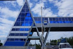"""На трассе """"Уфа-Аэропорт"""" завершено строительство надземного перехода"""