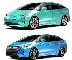 Первые снимки гибрида Toyota Prius четвертой генерации появились в Сети