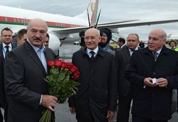 В Уфу прилетел президент Белоруссии Александр Лукашенко