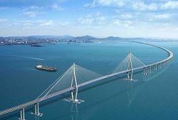 РФ в 2015 году на строительство моста через Керченский пролив выделит меньше денег