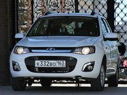 На авторынок РФ поступят машины Lada Kalina с опцией круиз-контроля