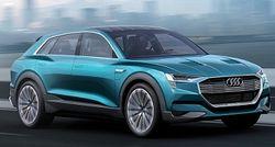 Компания Audi продемонстрировала новый концепт электрокроссовера e-tron quattro