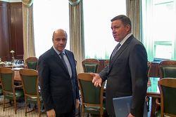 Вологодский губернатор Олег Кувшинников поговорил с главой Минфина о региональном бюджете