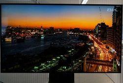 Стала известна стоимость первого в мире сверхчеткого телевизора