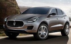 В 2016 году компания Maserati презентует первый серийный внедорожник Levante