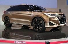 На дорогах замечена серийная версия кроссовера Honda Concept D