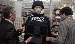 В России для журналистов создали специальный бронежилет