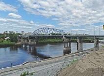 В Тюмени открыли важный мост-дублер через Туру