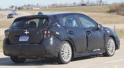 Компания Subaru тестирует новое поколение седана и хэтчбека Impreza