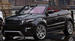 Состоялась презентация нового кросс-кабриолета Range Rover Evoque