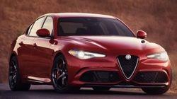 Фотографии первого рендера Alfa Romeo Giorgio Quadrifoglio стали доступны в интернете