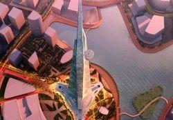 В Саудовской Аравии будет продолжено возведение небоскреба высотой более 1 км