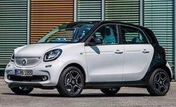 Daimler AG в конце декабря начнет продажи в РФ новых моделей Smart