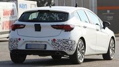 """На дорожных испытаниях замечен """"заряженный"""" хэтчбек Opel Astra GSI 2016"""