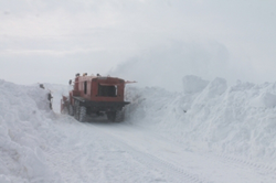Снежные заторы в Башкирии